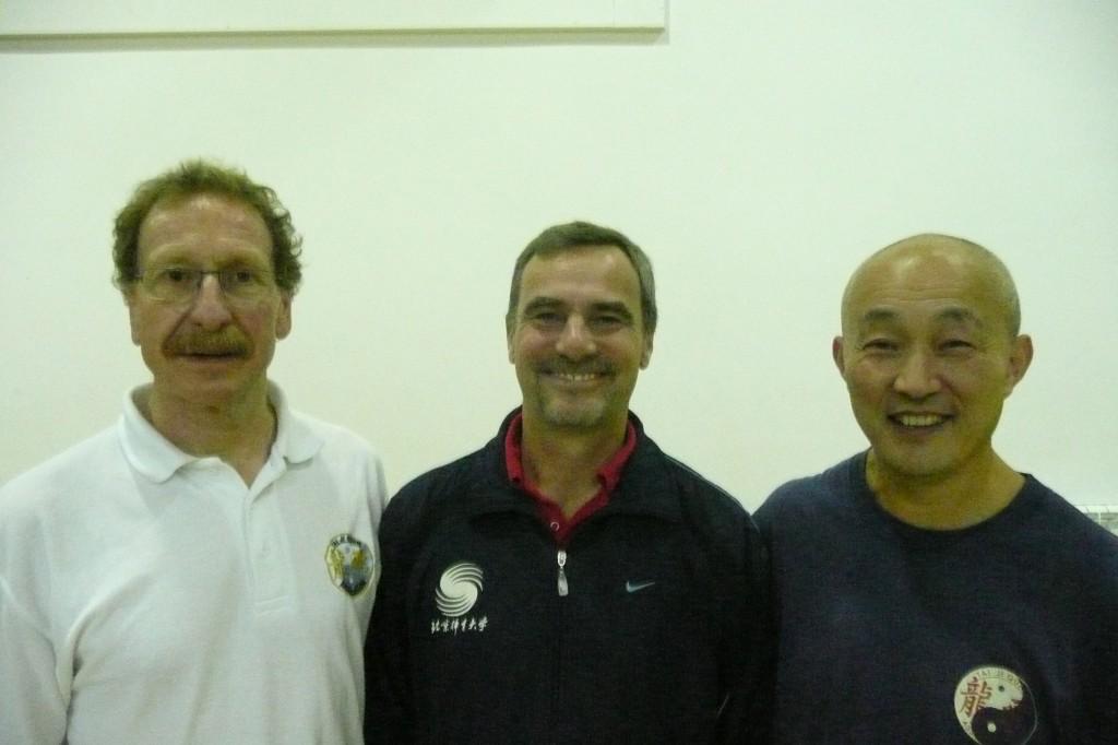 rvin with Simon Watson and Master Wang Yanji