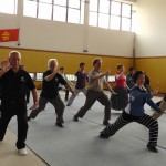 Training with Chinese students Shanghai
