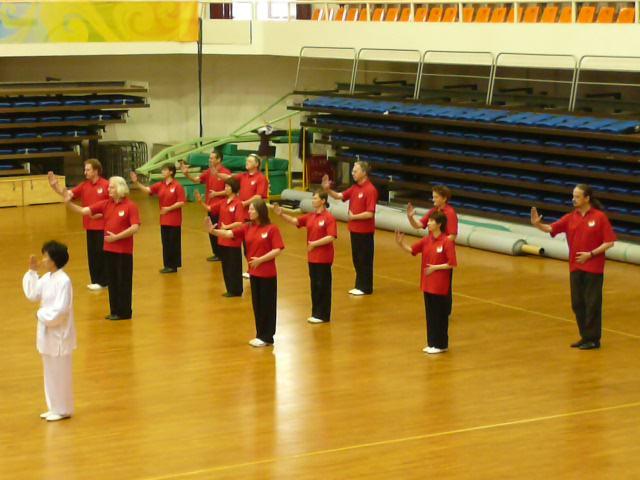 Winning Team Gold at the 2010 Daoyin Championship